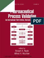 Pharmaceutical Process Validation.pdf