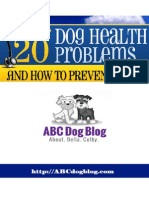 The Top 20 Dog Health Problems And How To Prevent Them