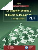 La situación política y el dilema de los partidos