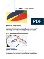 10 Reasons to Add ETFs to Your Portfolio