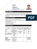 Mallikarjun m.tech(Digital Commn and Networking)Resume