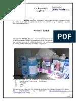 Catalogo de Productos LAB DEL RIO, S.a.