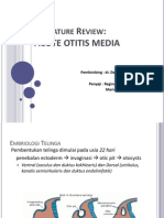 Literature Review Acute Otitis Media / Otitis Media Akut