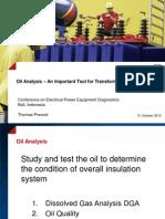 4 Prevost Oil Analysis