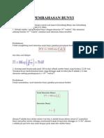 Soal Dan Pembahasan Bunyi Fisika