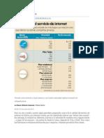 Tarifas de Internet en Bolivia