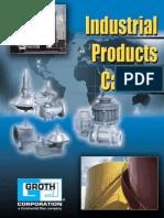 Groth Corporation Industrial Catalog (PVRV Vacuum)