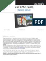 Garmin Nuvi 42 operating manual
