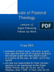Pastoral Theology Lect 12