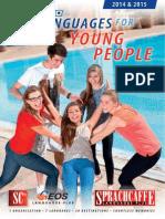 Sprachcaffe Young Brochure 2014