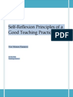 Moises Ramirez -Teaching Principles