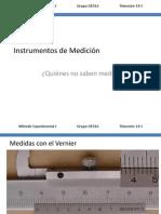 Método Experimental I - 03 Medir