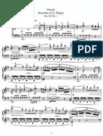 Dussek - Op.20 - 6 Sonatinas