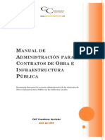 Manual Administracion de Contratos