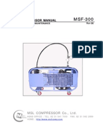 MSF-300_AIR COMPRESSOR