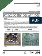 Philips Ts03-005 Dvd615 Dvd616k Dvdq35 Service-Info