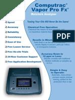 Computrac Vapor Pro Fx Brochure-Rev A