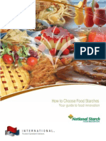 How to Choose Starch