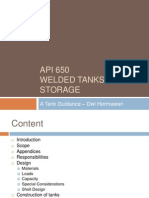 Welded Tanks for Oil Storage