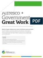 Alfresco + Government = Great Work Whitepaper