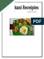 Konkani Receipies