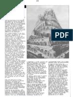 22.- Torre de Babel