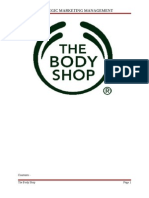 Strategic Management the Body Shop
