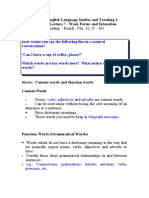 PE3011 English Language Studies and Teaching 1 Phonetics Lecture 7