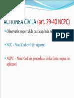 ACTIUNEA CIVILA