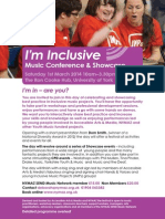 I'm Inclusive Flyer