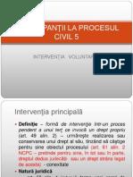 Participantii - interventia voluntara