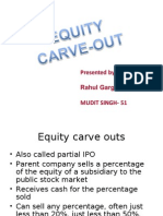 Equity Carve Out