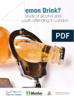Alcohol and Youth Offending Report