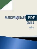 Participantii - paratul