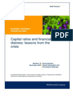 Capital Ratios and Financial Distress
