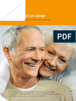 Broschüre «Sicherheit im Alter»
