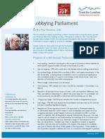 New Final Lobbying Parliament