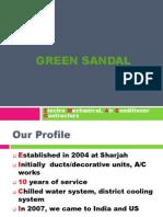 Air Conditioner Contractors - Green Sandal UAE