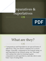 Comparative Superlatives