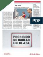 Profesores en Red.La Voz de la Escuela.26.2.2014