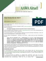 Aawa-Aktuell Nr. 76 - Januar 2014