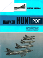 (Warpaint Series No.8) Hawker Hunter
