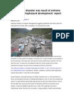 The Natural Uttarakhand Disaster
