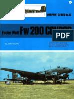 (Warpaint Series No.13) Focke-Wulf Fw 200 Condor
