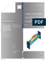 A Design Guide for Footfall Induced Vibration of Structures