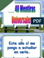 40 Mentiras Universales-Www[1][1].Diapositivas.com