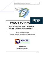 Manual de Especificacoes Tecnicas Do DANFE NFC-e QRCode Versao3.1!30!04 2013