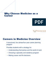 Why Choose Medicine as a Career