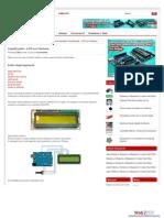 LiquidCrystal – LCD con l'Arduino