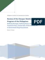I-Cheaper Medicines Program Review